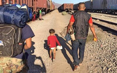 El 'Viacrucis de Refugiados' de Tapachula a Tijuana.