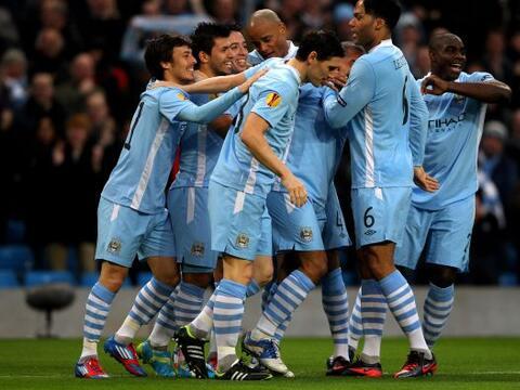 Manchester City sigue en la Liga Europa gracias a una clara goleada sobr...