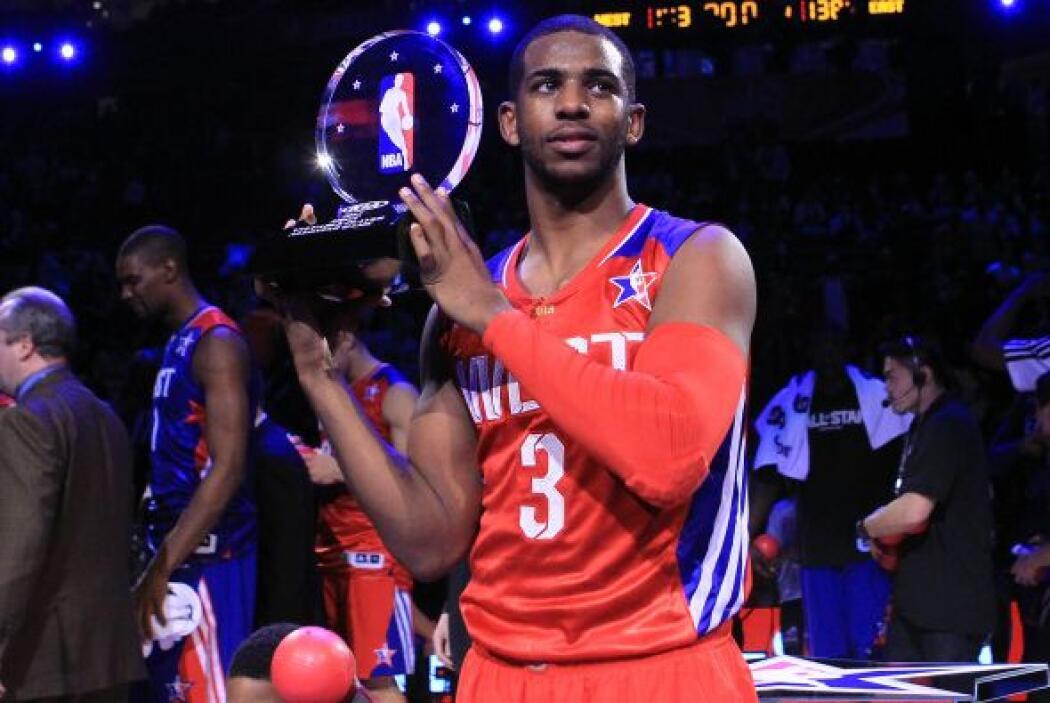 Por ello, el base de los Clippers fue por primera vez MVP de este espect...