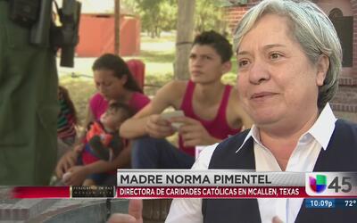 Madre Norma Pimental, invitada especial del papa en Juárez