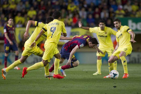 Barcelona practicaba su ya clásico estilo pero, tal y como le ha pasado...