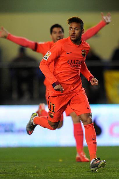 Neymar se ubica en la tercera posición del ranking, con una ganan...