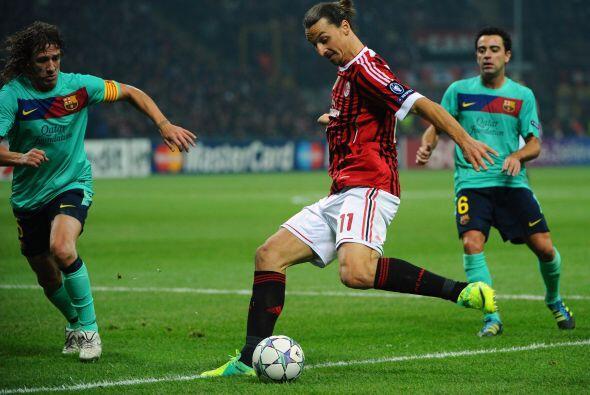 Los italianos no se vinieron abajo, todo lo contrario. Zlatan Ibrahimovi...