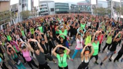 World WorkoutHerbalife en Los Angeles. (Foto: Herbalife)