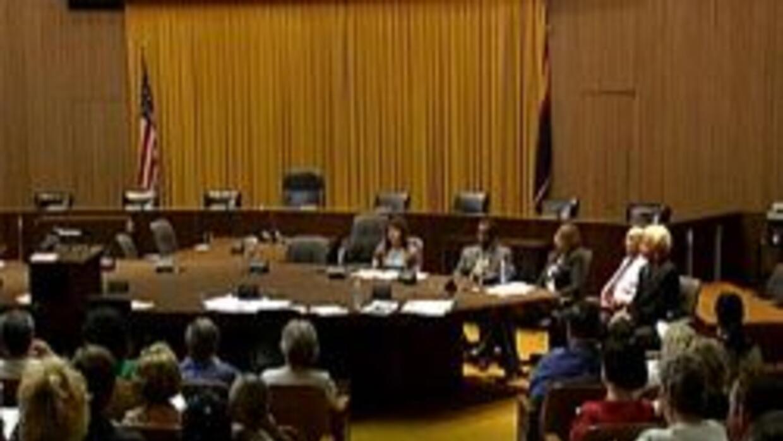 Reunion en la sala del concilio de la ciudad de Phoenix