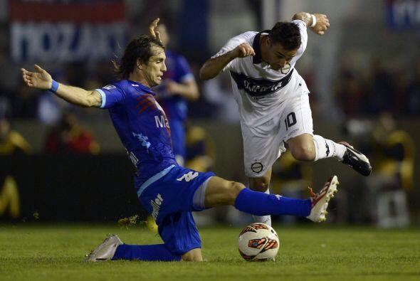 Martín Galmarini, volante ofensivo de 31 años que fue piez...