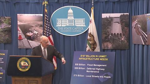 Solicitarán ayuda a Trump para prevenir inundaciones en California