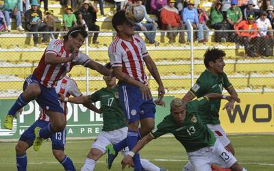 Bolivia venció 1-0 a Paraguay