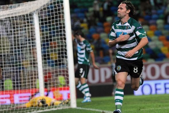 Al son de 5-0, con tantos de Carrico, Maniche (en la foto), Postiga, Sal...
