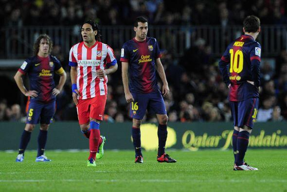 Pese a que el Barcelona era el club que tenía la pelota, el contragolpe...