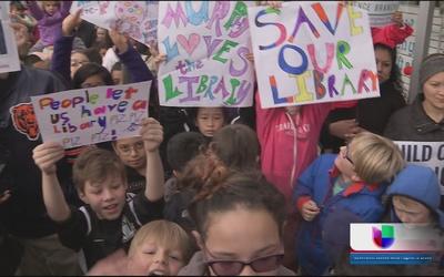 Quieren su biblioteca en Albany Park