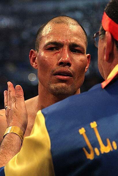 José Luis 'Temible' Castillo, de 36 años, se dio cuenta que el boxeo ha...