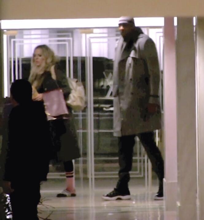 Llegaron juntos al hotel.
