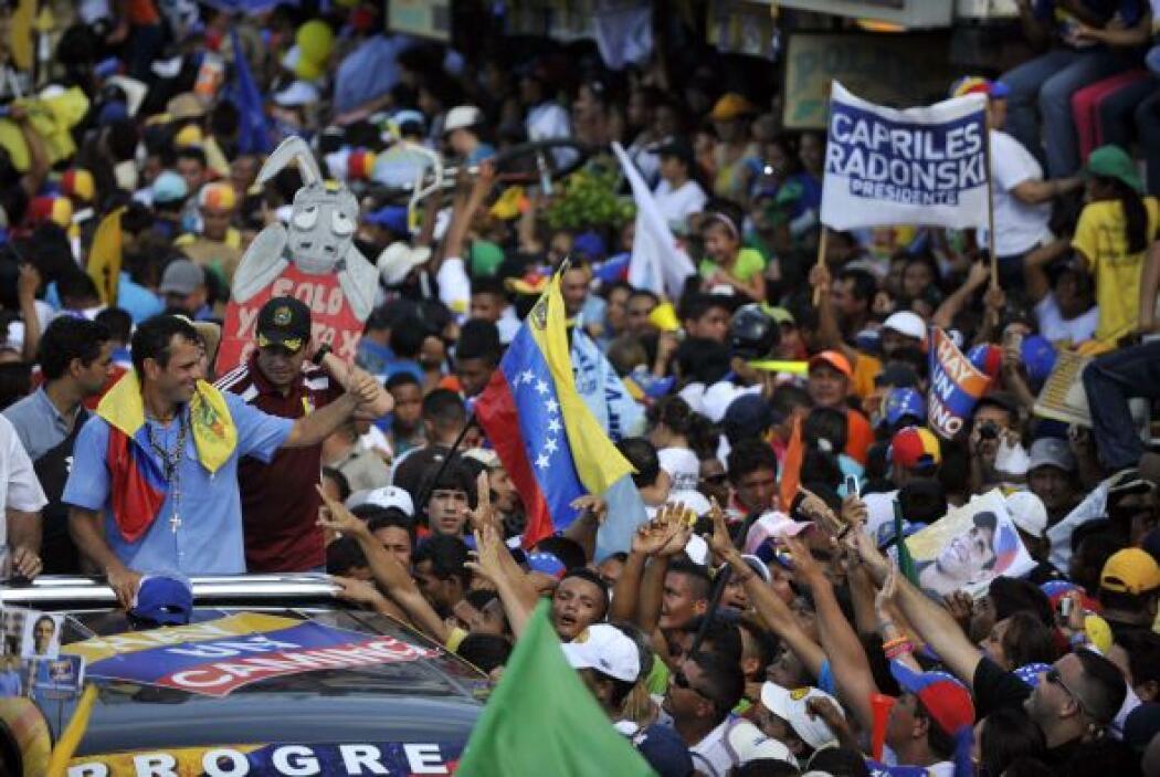 """""""Presidente Chávez, usted fue sin duda alguna un gran contendor, usted a..."""