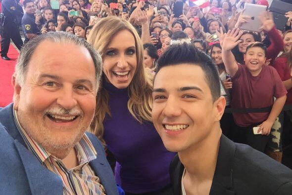 El cantante estuvo como invitado en El Gordo y la Flaca, donde caus&oacu...