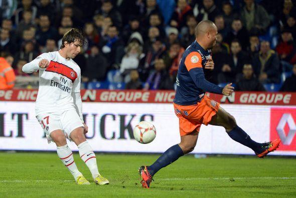 Aunque su París Saint-Germain no pudo sacar los tres puntos ante Montpel...