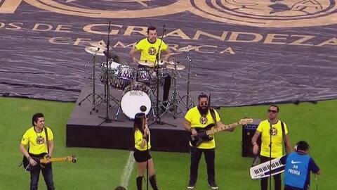 El tema musical de los 100 años del club América estuvo envuelto en un e...