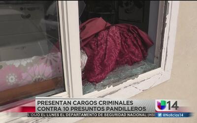 Presentan cargos criminales a pandilleros de la MS-13