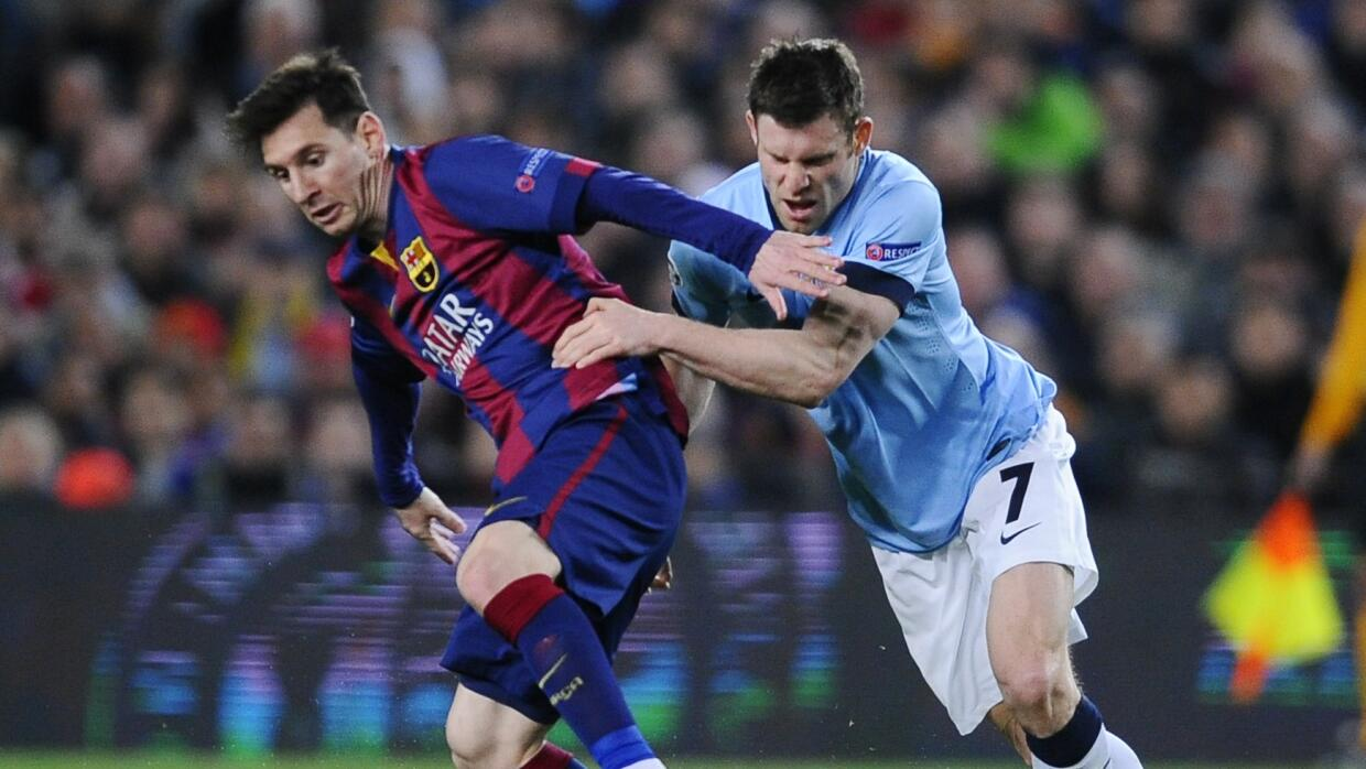 Manchester City vs. Barcelona