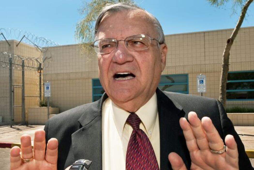 El alguacil de condado de Maricopa, Arizona, Joe Arpaio, dotará a cada u...