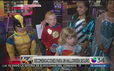 Asegure a sus niños la noche de Halloween