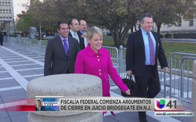 Cierre de argumentos en juicio sobre el escándalo del Bridgegate