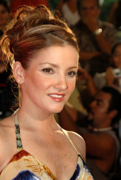 """Karla Álvarez desfiló en 2007 por la alfombra de los """"Premios TVyNovelas""""."""