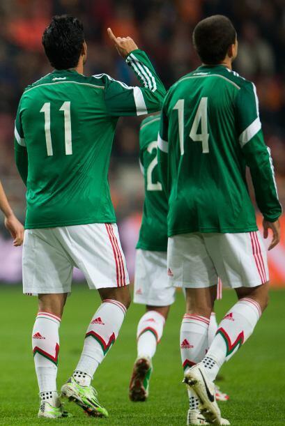 El entendimiento entre Vela y Hernández se dio de manera natural...