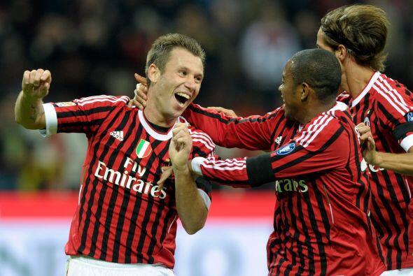 El Milan pasa por un buen momento y sigue subiendo.