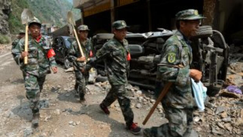Terminaron las operaciones de búsqueda de supervivientes después del sis...