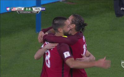 Christian Pulisic marcó el 4-0 del US Team sobre Honduras
