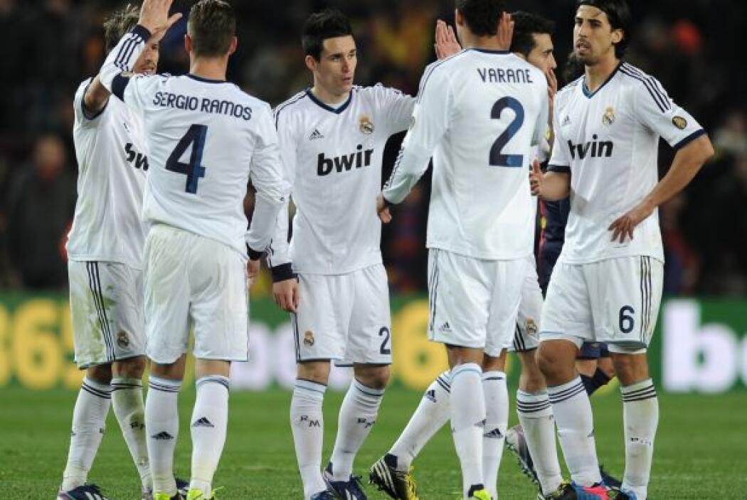 Victoria final del Real Madrid que da una exhibición en el Camp Nou.