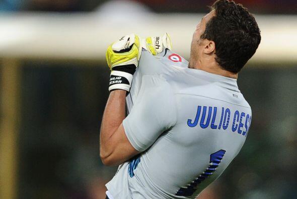 Julio César tuvo importantes intervenciones y el Inter super&oacu...