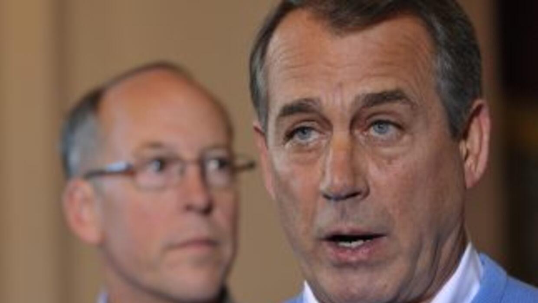 El nuevo presidente del Congreso, el republicano John Boehner, ha reiter...