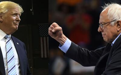 Top Rank quiere organizar el debate Donald Trump vs Bernie Sanders.