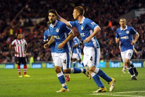 Venció al Sunderland 2 a 1.