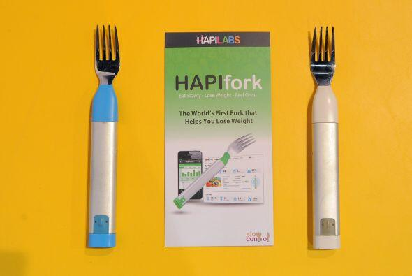 """Un tenedor electrónico promete hacer adelgazar  Se llama """"Hapifor..."""