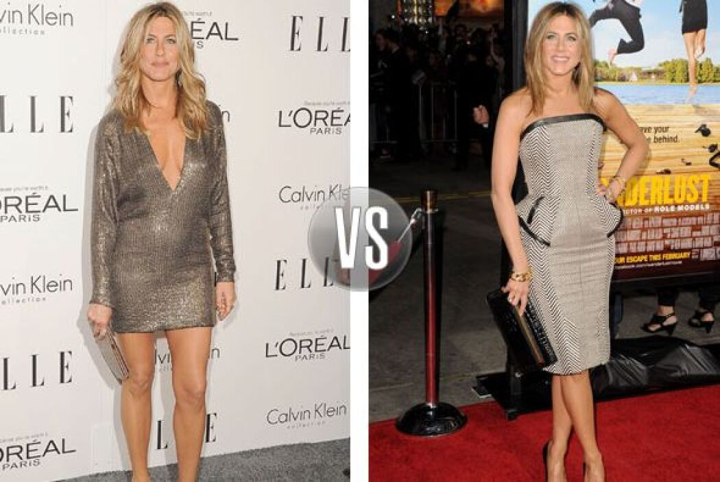 Dentro o fuera de las pantallas, Jennifer Aniston viste con impecables m...