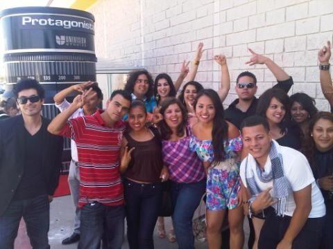 Los participantes de Los Ángeles fueron privilegiados por ser los...
