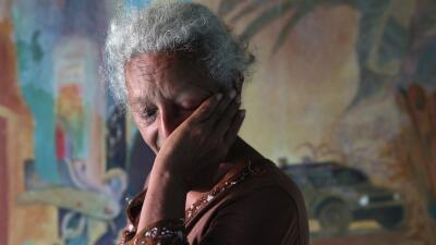 Lidia Valenzuela, una madre hondureña buscando a su hijo en México.