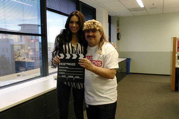 Barbara Falcón, representante texana en Nuestra Belleza Latina, v...