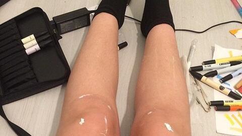 Las piernas de la discordia