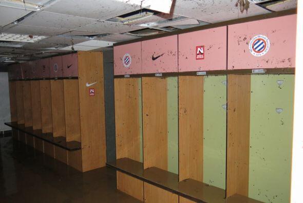 Vestidores, túneles, triubunas, la sala de prensa y en su totalid...