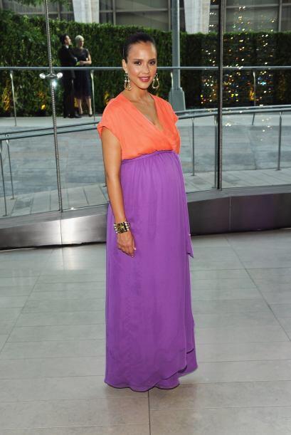 Jessica Alba llevó su embarazo con mucho porte. Mira aquí...