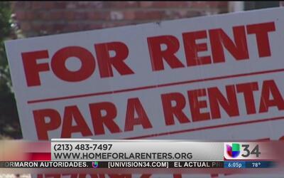 Buscan proteger derechos de inquilinos en Los Ángeles