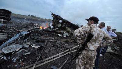 Rebeldes obstaculizan investigación sobre el avión derribado