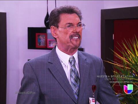 ¿Qué pasa don Rafael? Se ve que está furioso. &ique...