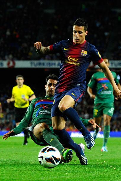 Levante contuvo bien al Barcelona.