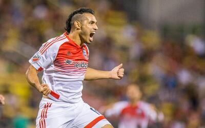 Tras muchos años en la MLS Fabián Espíndola se llev...