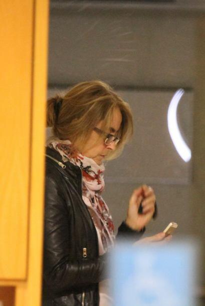 La madre de Piqué fue quien acudió inmediatamente para ver qué pasaba co...